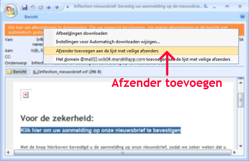Outlook instructie 2